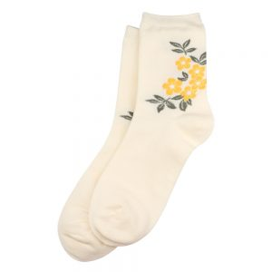 Socks Blossom Made With Cotton & Spandex by JOE COOL
