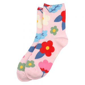 Socks Fresh Flower Made With Cotton & Spandex by JOE COOL