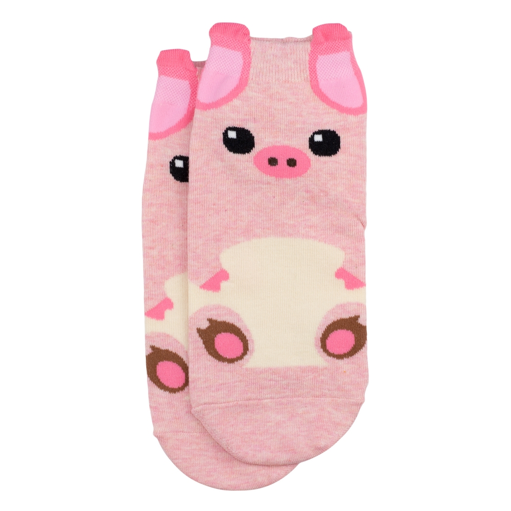 Socks Piglet Made With Cotton & Spandex by JOE COOL