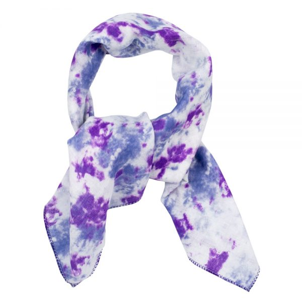 Scarf Kerchief Tie Dye Made With Cotton by JOE COOL