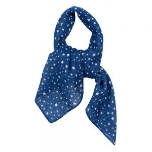 Scarf Kerchief Starry Night Made With Cotton by JOE COOL