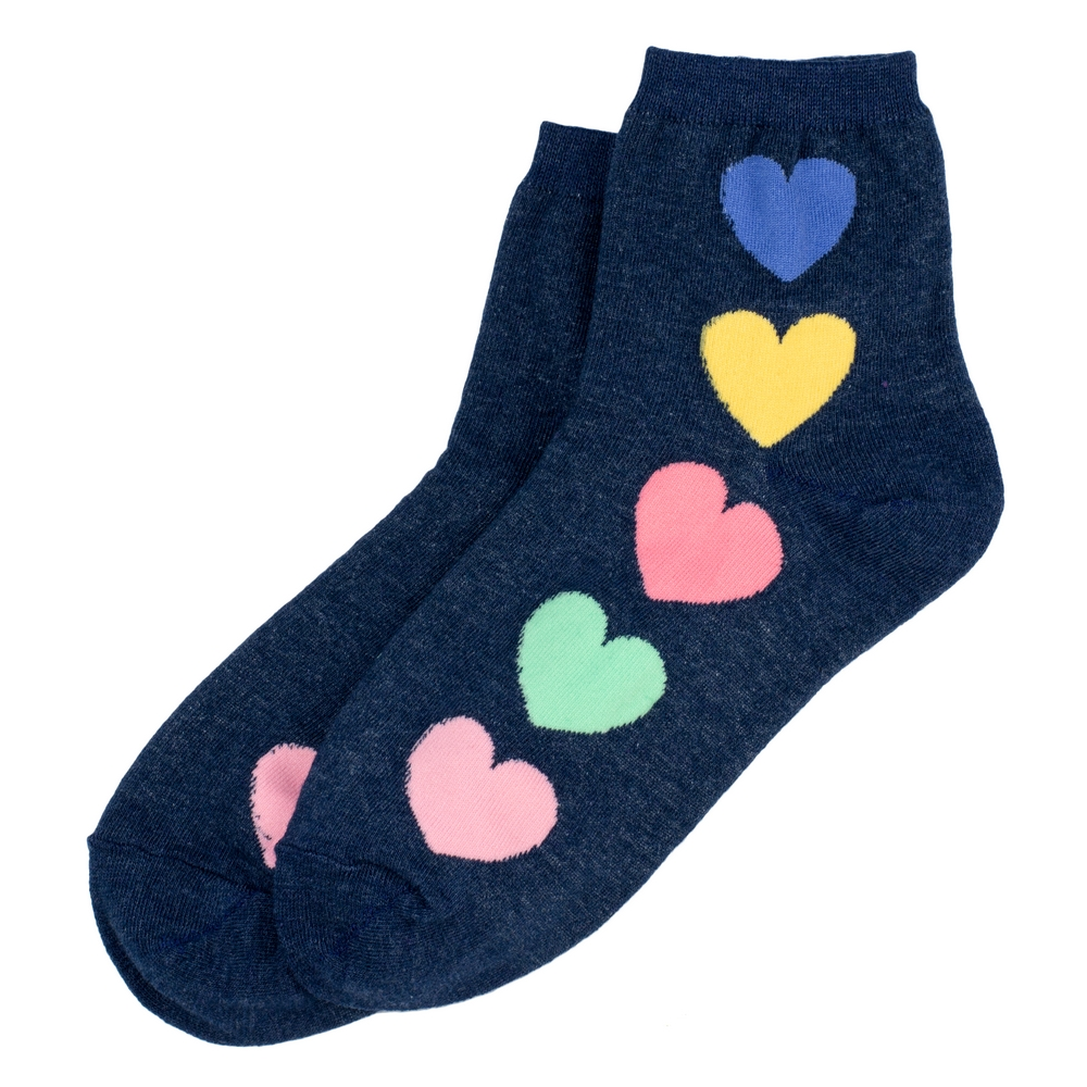 Socks Ankel Full Of Love Made With Cotton & Spandex by JOE COOL
