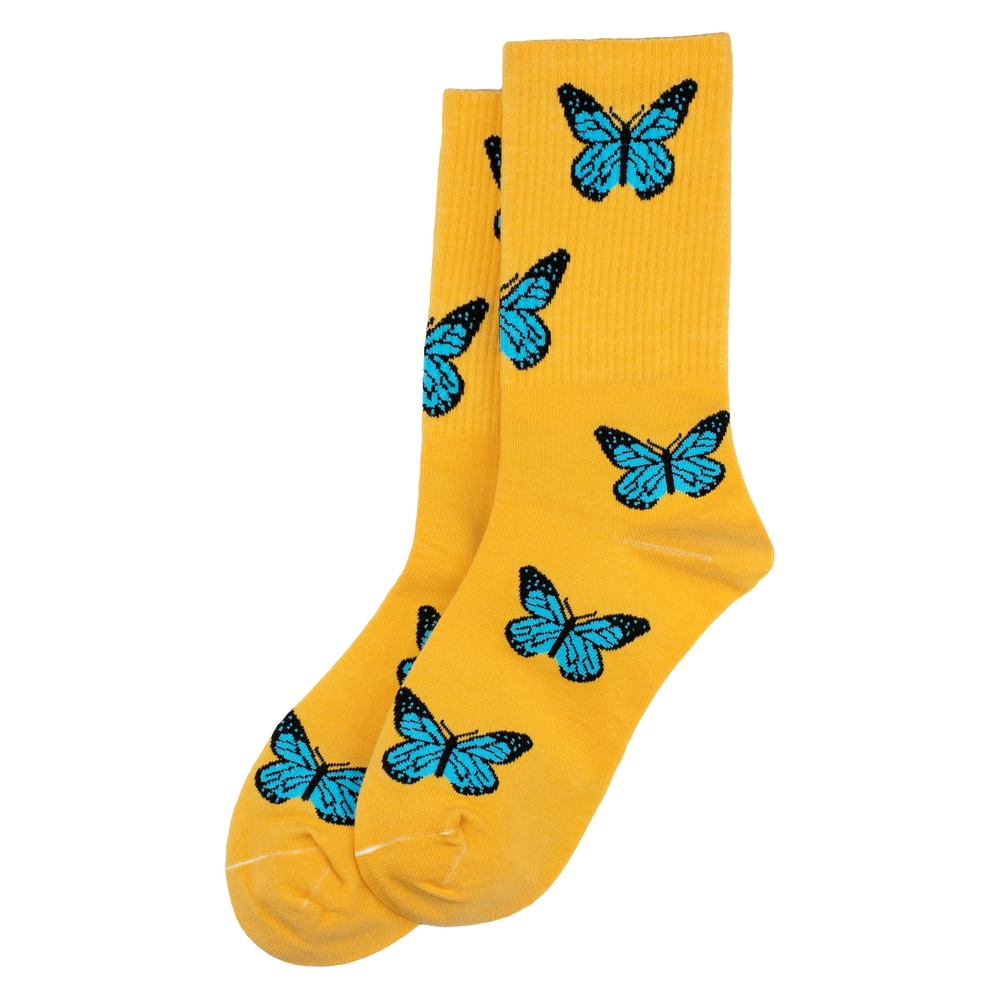 Socks Butterflies Made With Cotton & Spandex by JOE COOL