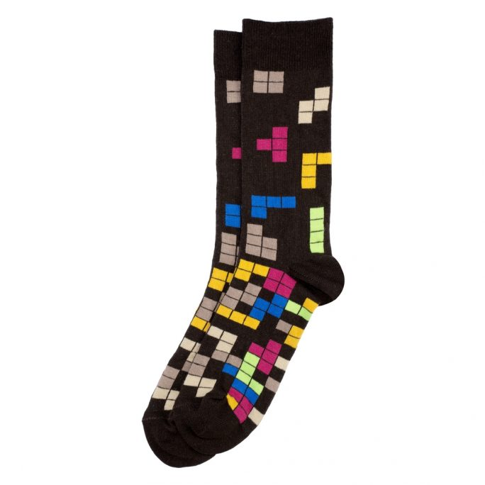 Socks Tetris Made With Cotton & Polyester by JOE COOL