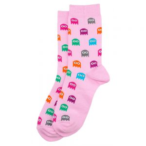 Socks Arcade Ghost Made With Cotton & Polyester by JOE COOL