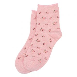 Socks Melange Flowers Made With Cotton & Spandex by JOE COOL