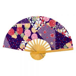 Fan Kimono Print Made With Cotton & Bamboo by JOE COOL