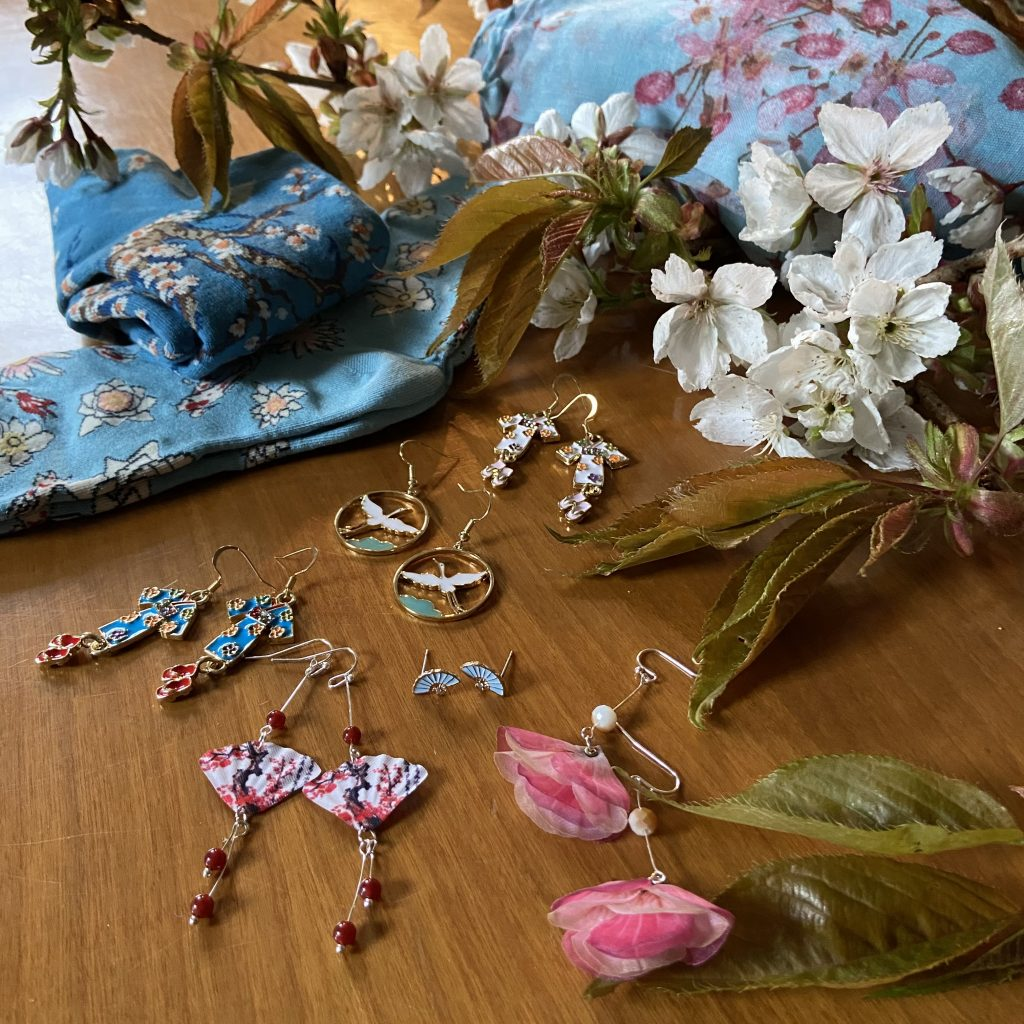 Japan inspired jewellery and accessories