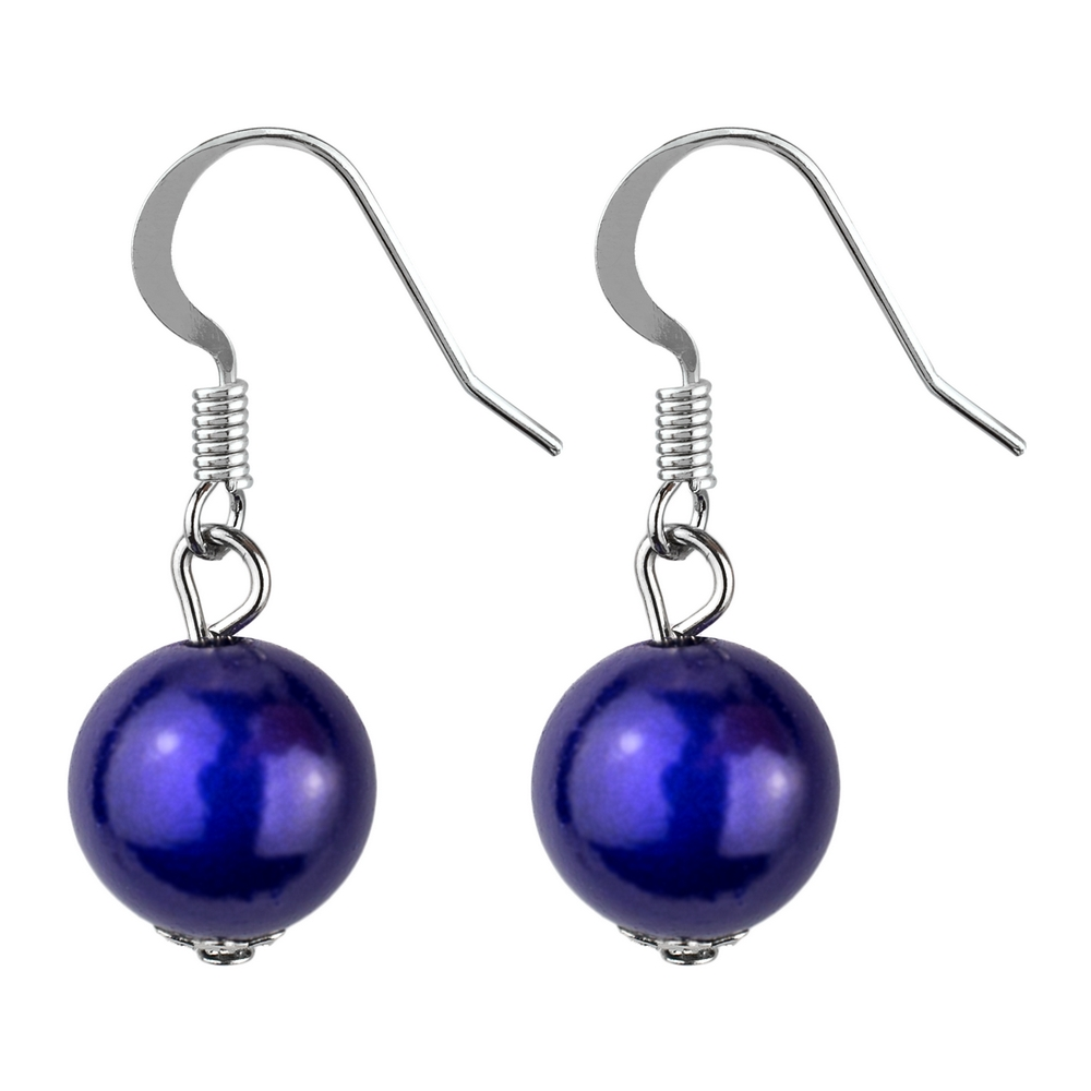 Drop Earring Magic Bead Made With Resin by JOE COOL