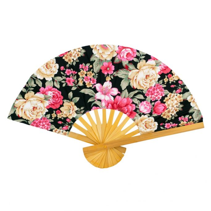Fan Floral Chintz Made With Cotton & Bamboo by JOE COOL