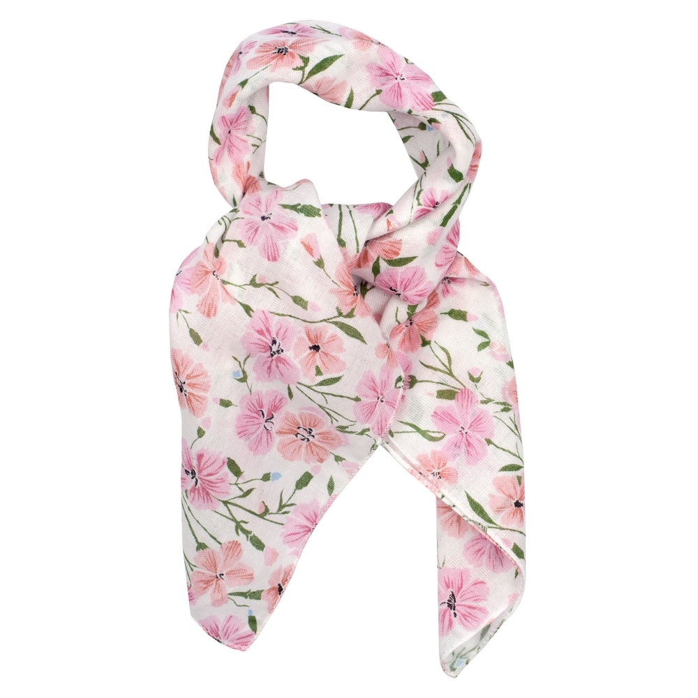 Scarf Kerchief Carnation Made With Cotton by JOE COOL