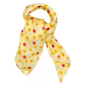Scarf Kerchief Sweet Apple Made With Cotton by JOE COOL