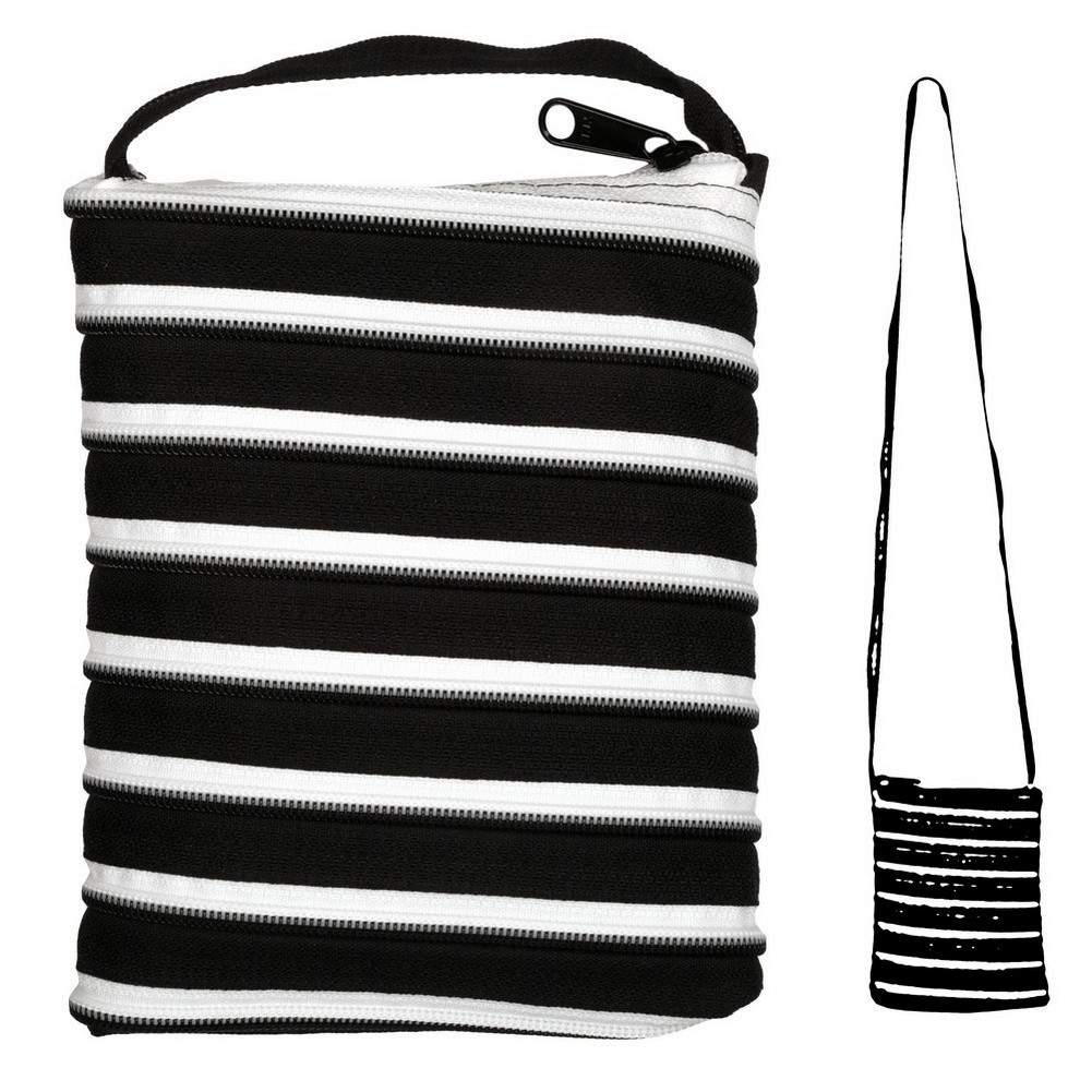 Shoulder Bag All Zipper Large Made With Polyester by JOE COOL