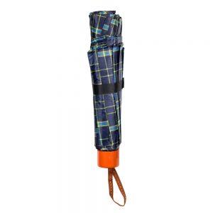 Umbrella Telescopic Tartan Made With Polyester by JOE COOL
