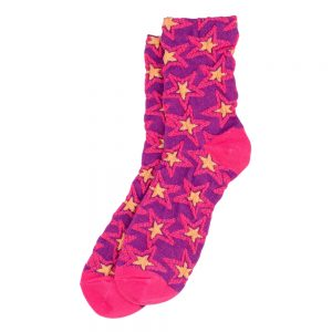 Socks Star Burst Made With Cotton & Spandex by JOE COOL