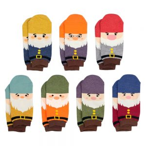 Socks Ankle Seven Dwarves Made With Cotton & Spandex by JOE COOL