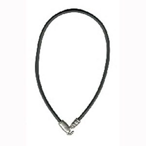 Necklace Snake Head Made With Pewter & Rubber by JOE COOL