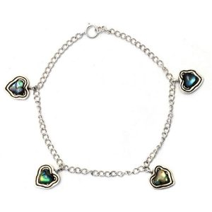 Bracelet 4 Hearts Made With 925 Silver by JOE COOL