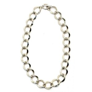 Necklace Large Link Made With Zinc Alloy by JOE COOL