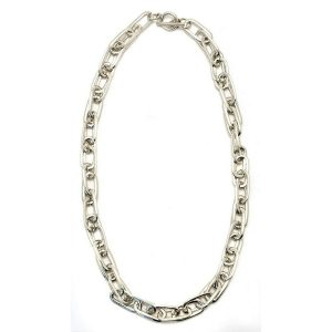 Necklace Double Oval Link Made With Zinc Alloy by JOE COOL
