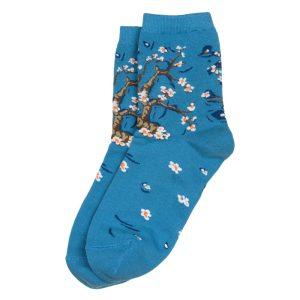 Socks Van Gogh Almond Blossom Made With Cotton & Spandex by JOE COOL