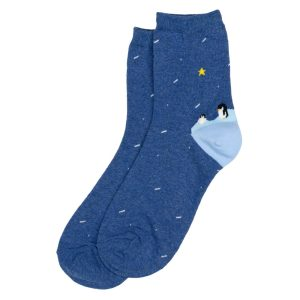 Socks Arctic Penguin Made With Cotton & Spandex by JOE COOL