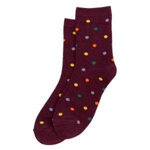 Socks Polka Dots Made With Cotton & Spandex by JOE COOL