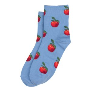 Socks Classic Apple Made With Cotton & Spandex by JOE COOL